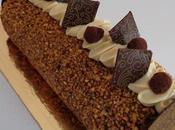 Bûche 2016 chocolat noisette
