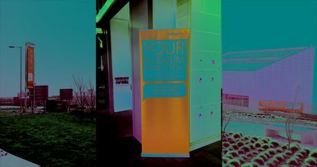 Signalétique pour la remise du prix Art Fund © Doublet