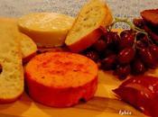 Fromages végétaux accompagnés gelée Lapsang Souchong Faire fête quoi!