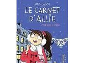 Cabot carnet d'Allie Vacances à Paris