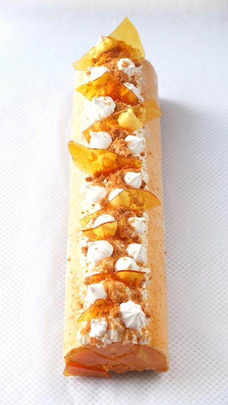 """Résultat de recherche d'images pour """"Bûche au caramel beurre salé"""""""
