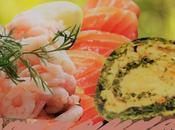 Recette roulé saumon crevettes