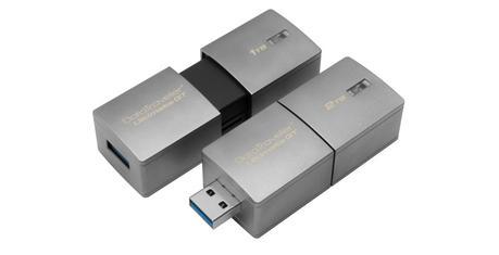 Kingston dévoile une clé USB de 2To