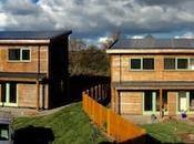 Solar pays Galles, lotissement solaire