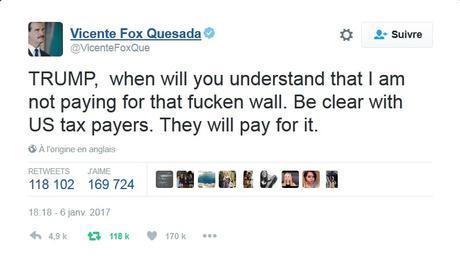 Dans le mur