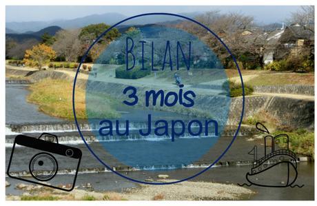 3 mois au Japon!