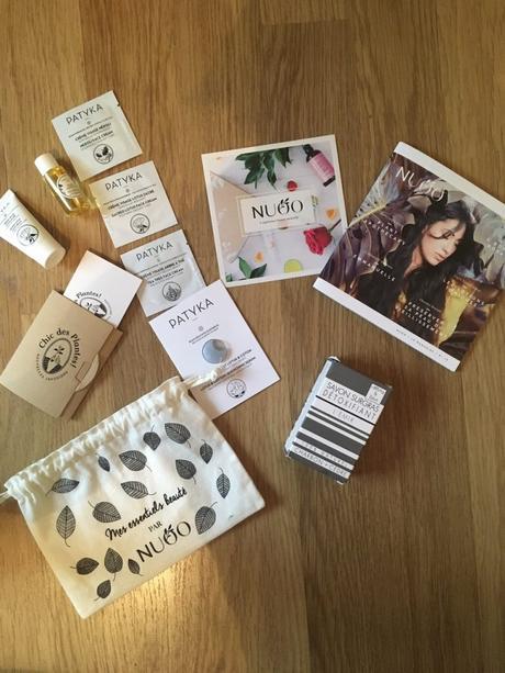 Produits offerts Nuoo Box