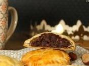 Mini galettes rois frangipane chocolat sucettes