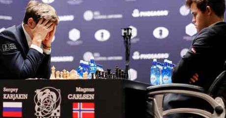 Le championnat du monde d'échecs