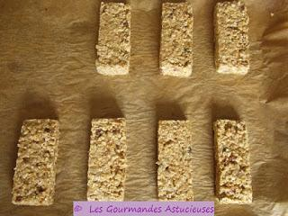 Barres de céréales Faites maison saines et naturelles