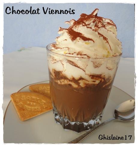 Chocolat Viennois (et jardin gelé par un matin de l'hiver)