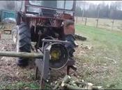 Cette machine pour couper bois trop rudimentaire… Mais marche merveille!!