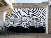 géométrie peinte main Brendan Monroe