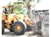 Bénin déguerpis espaces publics sombrent dans l'oubli