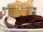 Gâteaux Chocolatés Compote pomme