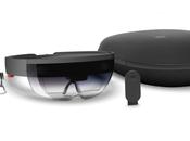 Hololens casque réalité mixte Microsoft