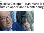 #LePen définitivement entaché l'infamie suprême #PesteBrune #Montebourg