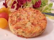 Galettes coquillettes jambon fumé, courgette fromage raclette