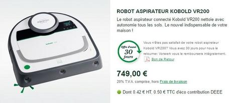 avis robot aspirateur kobold vr200 voir. Black Bedroom Furniture Sets. Home Design Ideas