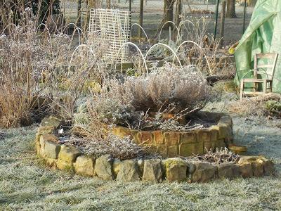 Le jardin en hiver paperblog for Jardin anglais en hiver