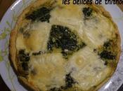 quiche épinards fromage raclette (escapade cuisine)
