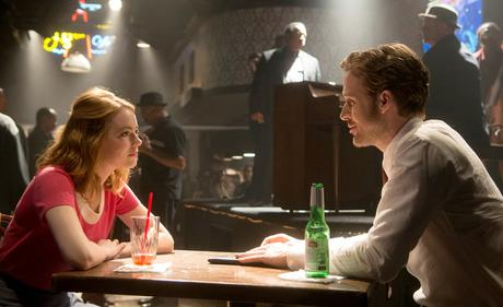 La La Land - Ryan Gosling et Emma Stone - Bar