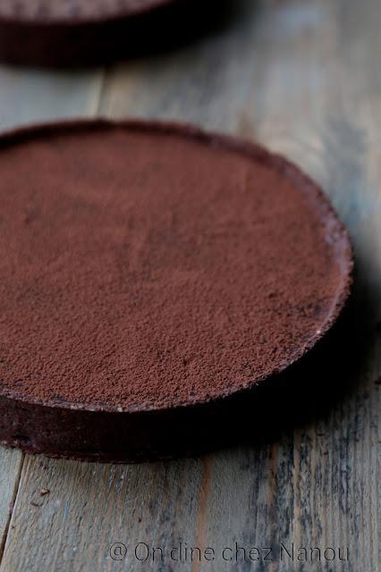 ganache chocolat noir , pâte cacao , 100% chocolat