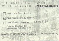 Le building, de Will Eisner, version 2004