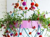 chandelier végétal (diy)