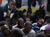 Libye Près clandestins nigériens rapatriés