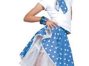 Jupe Rock Enfant Bleue