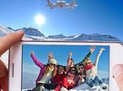 camera selfly drone dans coque