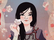 Hanako fille Soleil levant