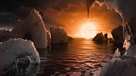 la surface de TRAPPIST-1f