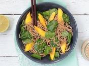 Nouilles soba cresson mangue