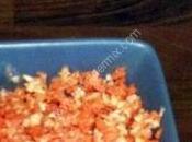 carotte céleri rapé avec sauce