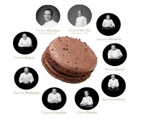 Chefs Pâtissiers MACARONS Journée du Savoir-Faire 16 mars 2017