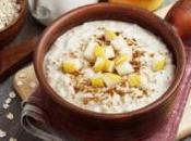 Porridge minceur poire cannelle