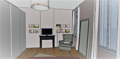 Relooking de chambre parentale paperblog for Relooking chambre parents