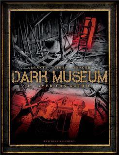 Dark museum, une nouvelle série Delcourt à faire frémir !?