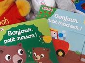 Bonjour petit ourson tracteur Nathalie Choux, nouveaux KIDIDOC animés pour bébés