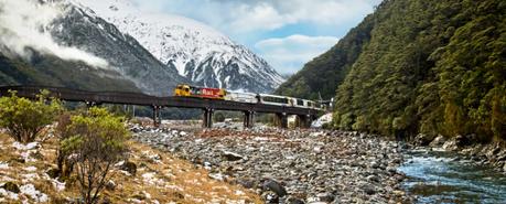 Voyager en Nouvelle-Zélande en train