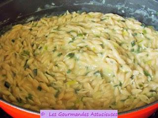 Pâtzotto aux poireaux et à la Ricotta