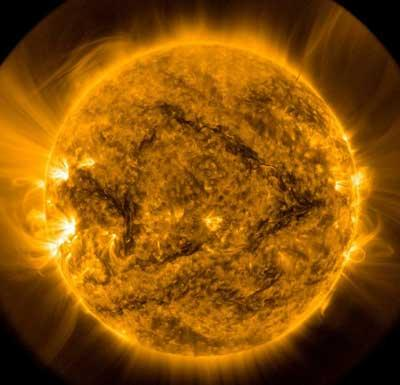 Image of the Sun taken by the Solar Dynamics Observatory