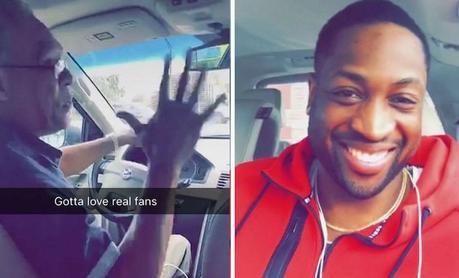 Quand Dwyane Wade tombe sur un chauffeur Uber qui est son plus grand fan