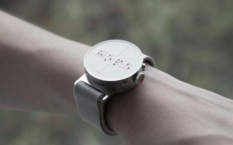 La montre connectée pour les malvoyants