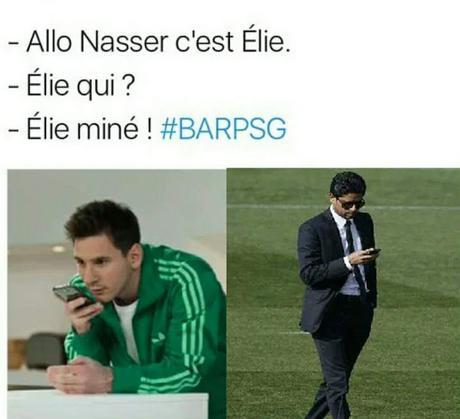Pensées au supporter du PSG qui vote à droite #BARPSG