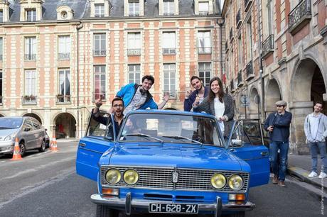 Jetlagsparis voyage dans Paris