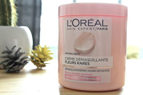 L'Oréal Crème Démaquillante Fleurs Rares⎪Top ou Flop ?