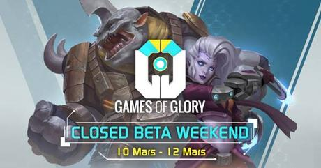 Games of Glory annonce un week-end de bêta fermée
